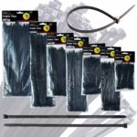 Black Nylon Cable Ties - Various Sizes