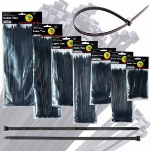 Zip Tie Guy - Industrial-Supplies - Black Nylon Cable Ties