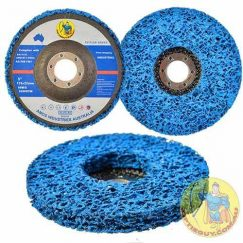 5″ 125mm x 22mm Blue Paint Stripping Disc