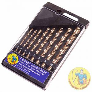 High Speed Steel (HSS) ) M35 Cobalt Drill Bit Set 8pc