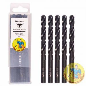 Black Oxide drill bits for hardened steel