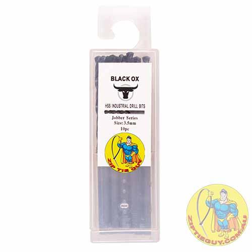 Black Oxide HSS Drill Bits 1-6.5mm