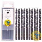 Black Oxide HSS 7mm 10pc Drill Bits