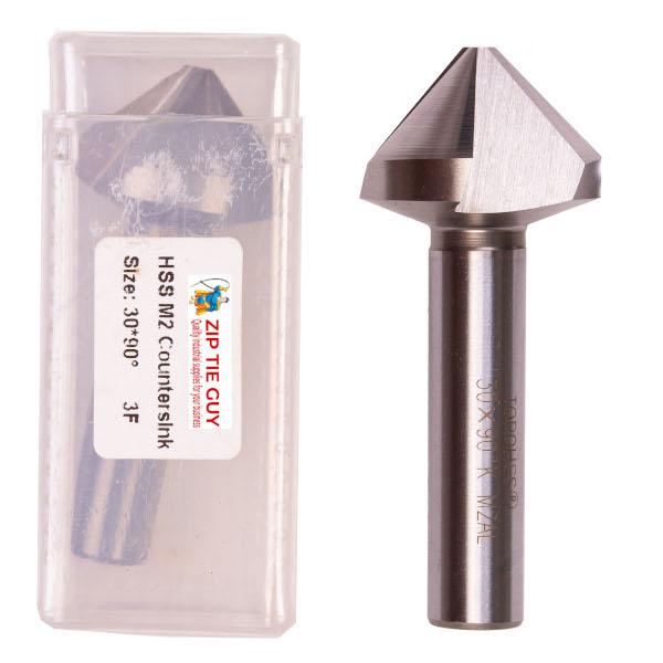 Countersink Drill Bit HSS M2 – 3 Flute (Various Sizes)