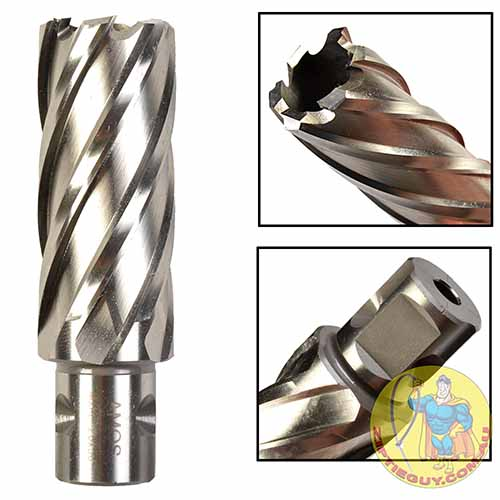 Annular Cutter High Speed Steel (HSS) Broach Cutters, 50mm Depth