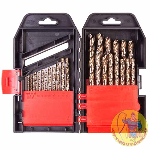 M35 Cobalt Imperial 29pc HSS Drill Set