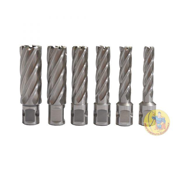50mm Broach Cutter Set – 12, 14, 16, 18, 20, 22, 24