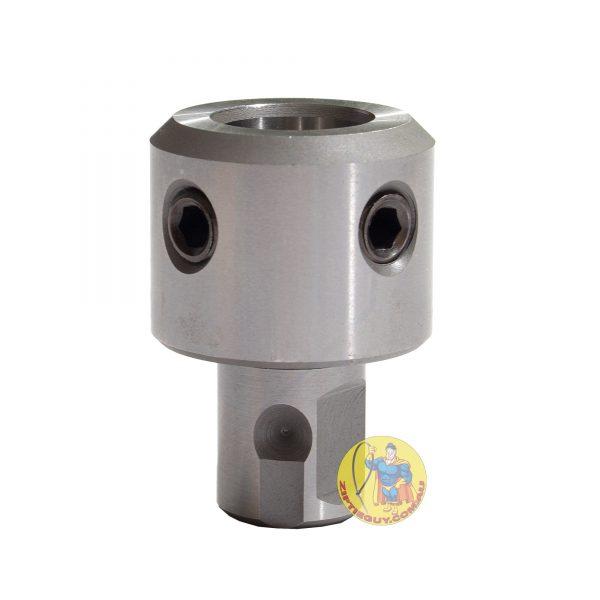 Weldon to Universal Adapter 6.35 Pilot Bore