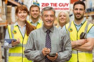 Zip Ties warehouse team